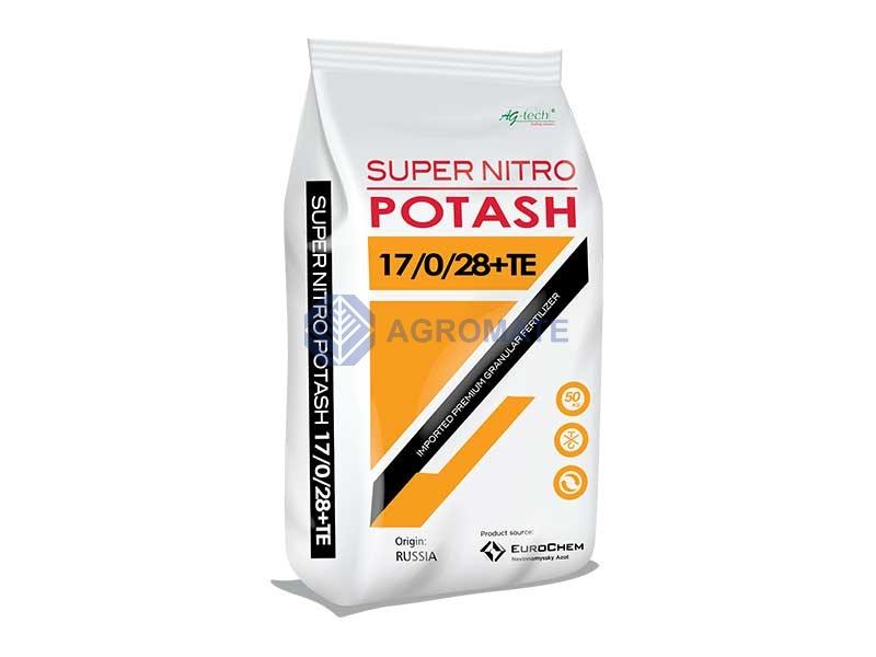 Super Nitro Potash (SNP)<br /> 17-0-28