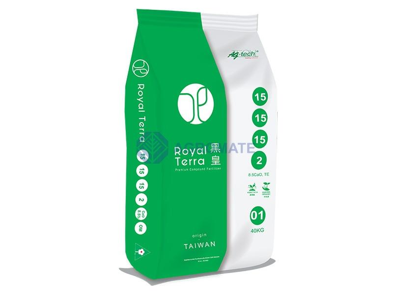 Royal Terra<br /> 15-15-15-2+8.5%CaO+50%OM